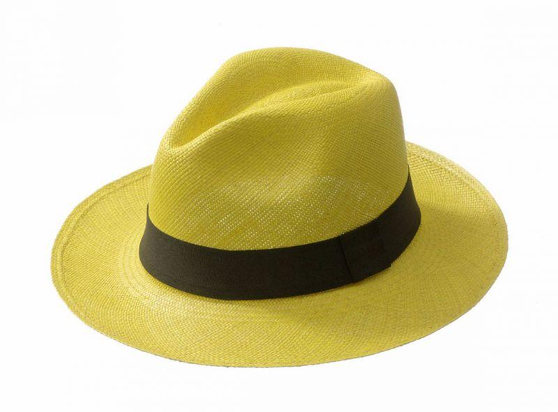 Panama Hat - CLASSIC Yellow